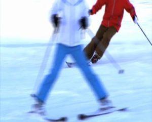 leren skien